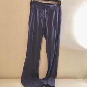 Lululemon microfiber wide leg pants